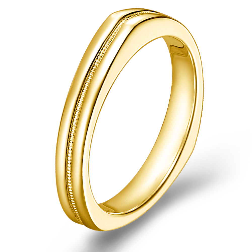 The Dome in 18k yellow gold