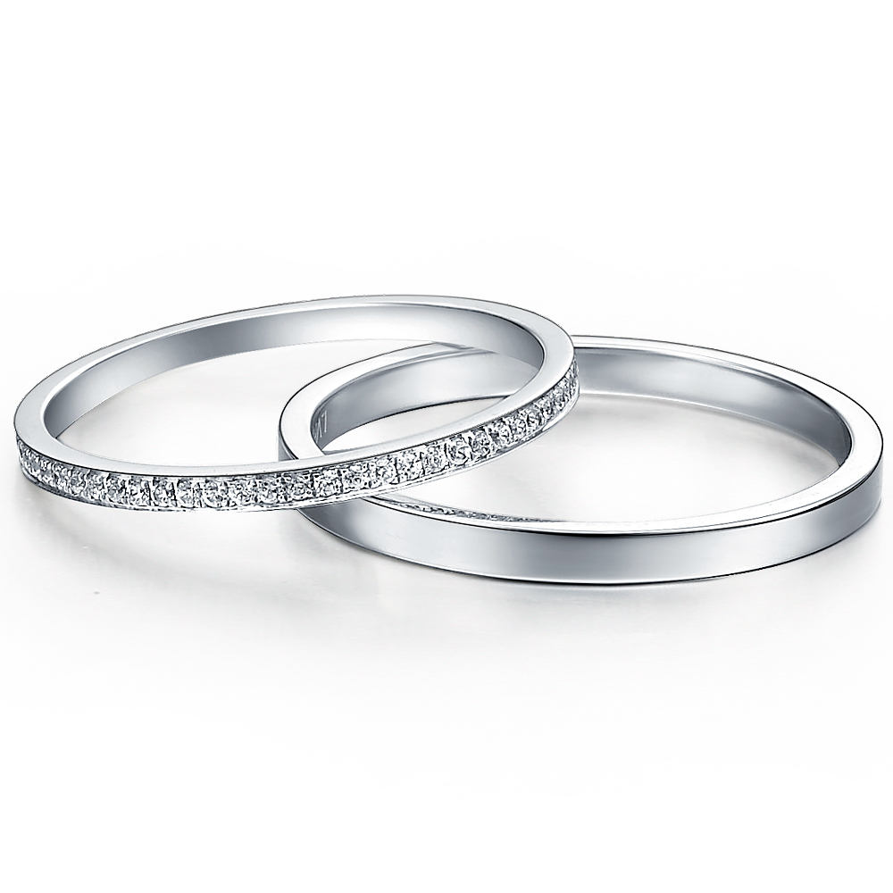 Timeless in 14k white gold with 0.21 ct. of Diamonds