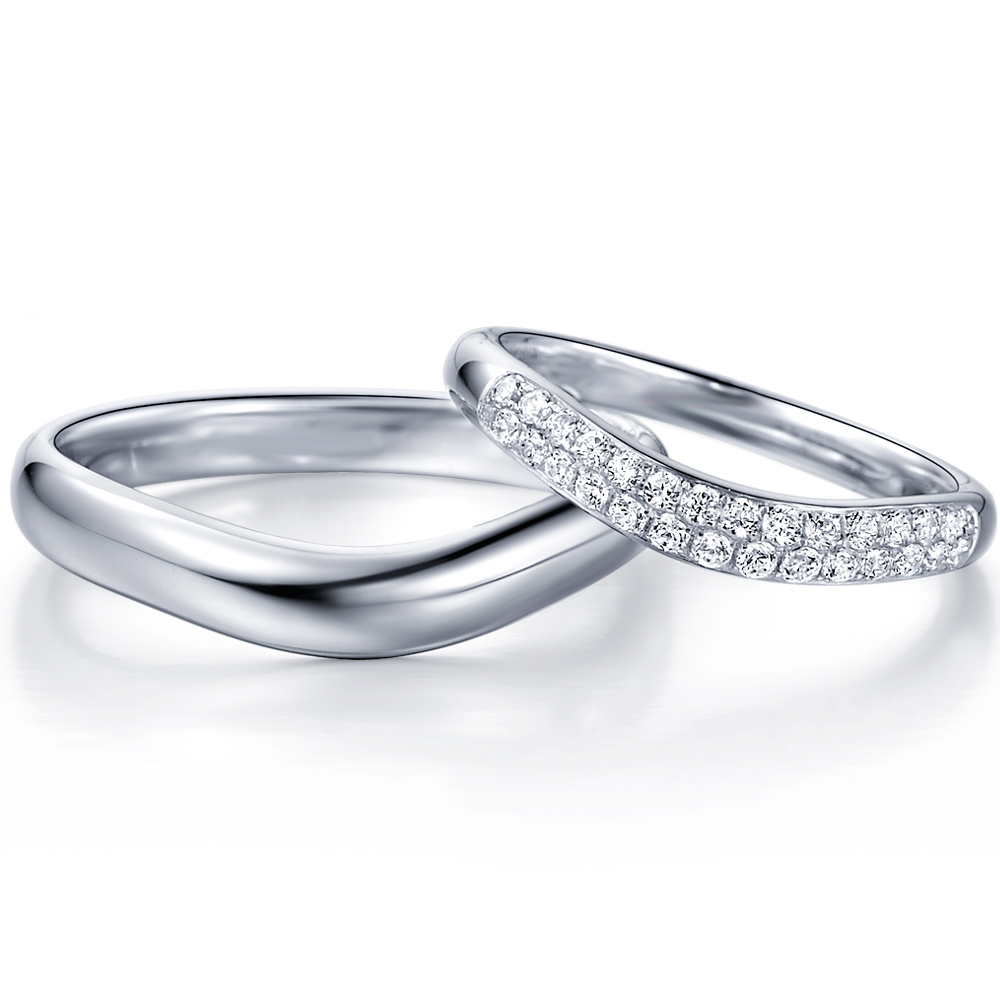 in 14k white gold with 0.31 ct. of Diamonds