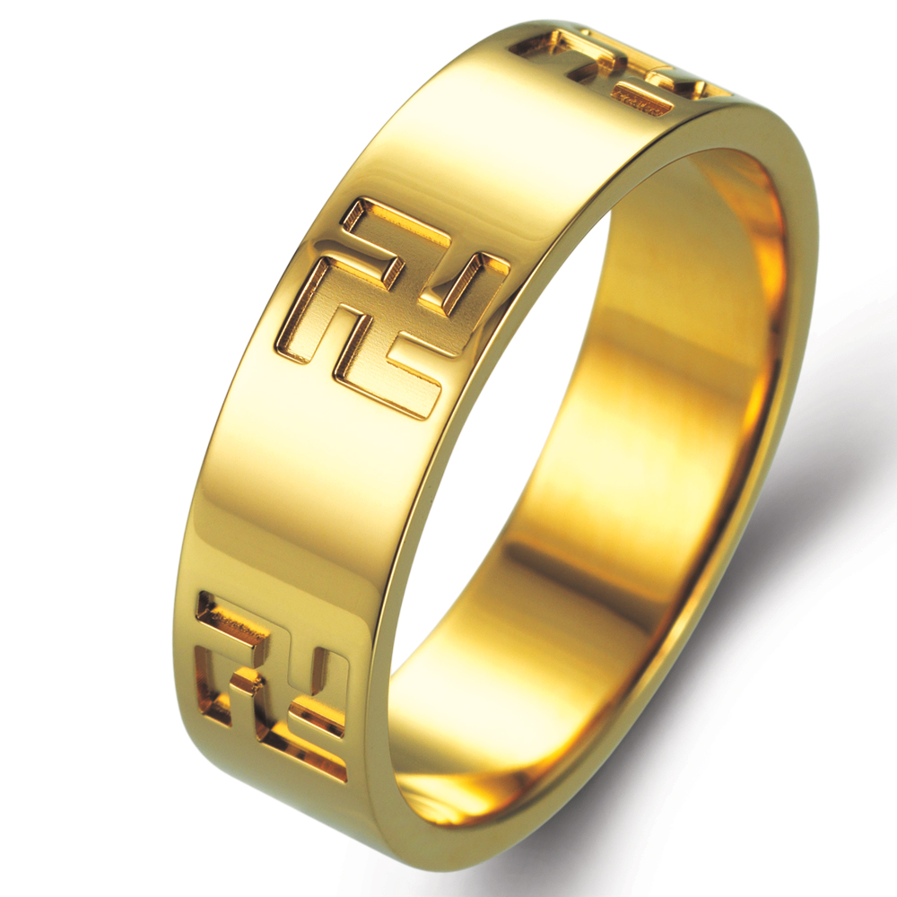 Sun in 18k yellow gold