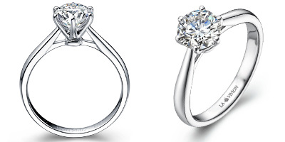 carat platinum classic lavivion ring engagement rings education style by diamond guide la with vivion in